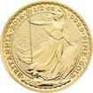 Zlatá mince 1/2 oz (trojské unce) BRITANNIA Velká Británie