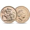 Zlatá mince 7.32g SOVEREIGN ELIZABETH Velká Británie 2016