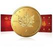 Zlaté mince 8x1g Maple Leaf MAPLEGRAM Kanada
