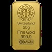 50 g. Zlatý slitek Argor Heraeus