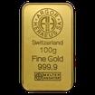100 g. Zlatý slitek Argor Heraeus