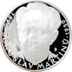 Stříbrná medaile Bohuslav Martinů 2009 Proof