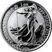 Stříbrná investiční mince Britannia 1 Oz