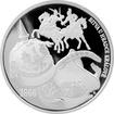Stříbrná medaile Dějiny válečnictví - Bitva u Hradce Králové 2016 Proof