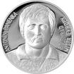 Stříbrná mince 2 NZD Antonín Panenka 2016 Proof