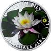 Stříbrná mince 1 NZD Ohrožená příroda - Leknín bílý 2016 Proof