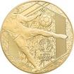 Zlatá mince Mistrovství Evropy ve fotbale Francie 1/4 Oz 2016 Proof