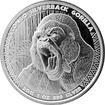 Stříbrná investiční mince Kongo Gorila 1 Oz 2015