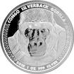 Stříbrná investiční mince Kongo Gorila 1 Oz 2016