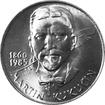 Stříbrná mince 100 Kčs Martin Kukučín 125. výročí narození 1985