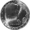 Stříbrná mince 100 Kčs Wolfgang A. Mozart 200. výročí 1991
