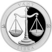 Stříbrná medaile Znamení zvěrokruhu s věnováním - Váhy 2017 Proof