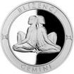 Stříbrná medaile Znamení zvěrokruhu s věnováním - Blíženci 2017 Proof