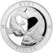 Stříbrná medaile Znamení zvěrokruhu s věnováním - Ryby 2017 Proof