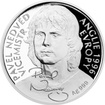 Stříbrná mince Pavel Nedvěd 2017 Proof