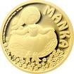 Zlatá mince Manka 2017 Proof