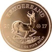 Zlatá investiční mince 1 Oz Krugerrand 50. výročí 2017
