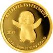 Zlatá mince My little investment - Tučňák 2017 Proof