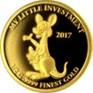 Zlatá mince My little investment - Klokan 2017 Proof