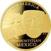 Zlatá investiční mince Maska z regionu Mexiko - Tenochtitlan 1 Oz 2015