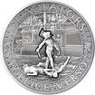 Stříbrná mince Gladiators 2 Oz Pollice Verso 2017 Antique Standard