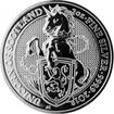 Stříbrná investiční mince The Queen's Beasts The Unicorn 2 Oz 2018
