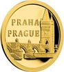 Zlatá mince Praha – Karlův most 2017 Proof