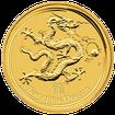 Zlatá investiční mince Year of the Dragon Rok Draka Lunární 2 Oz 2012