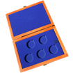 Dřevěná krabička 5 x Ag ČR 36 mm