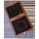 Dřevěná krabička 1 x Ag Titulární 57 mm