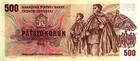 500 Kčs emise 1973