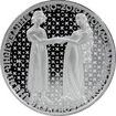 Stříbrná mince 200 Kč Jan Lucemburský a Eliška Nástup na trůn 700. výročí 2010 Proof