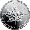 Platinová investiční mince Maple Leaf 1 Oz