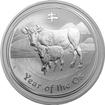 Stříbrná investiční mince Year of the Ox Rok Buvola Lunární 2 Oz 2009