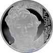 Stříbrná mince 200 Kč Alfons Mucha 150. výročí narození 2010 Proof