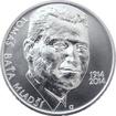 Stříbrná mince 200 Kč Tomáš Baťa ml. 100. výročí narození 2014 Standard