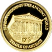 Zlatá mince Artemidin chrám v Efesu Miniatura 2009 Proof