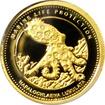 Zlatá mince Chobotnice skvrnitá Marine Life Protection Miniatura 2012 Proof