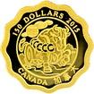 Zlatá mince Požehnání prosperity Lotos 2015 Proof (.99999)
