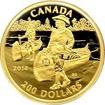 Zlatá mince Samuel de Champlain 2014 Proof