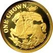Zlatá mince Svatý Jiří a drak Miniatura 2013 Proof