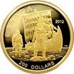Zlatá mince Vikingové 2012 Proof