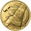 Memento 25. února 1948 - komunistický puč v Československu - 1 Oz zlat