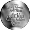 Slovenská jména - Adrián - stříbrná medaile
