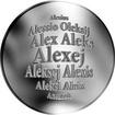 Česká jména - Alexej - velká stříbrná medaile 1 Oz