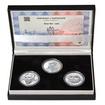 ALOYS KLAR – návrhy mince 200,-Kč - sada tří Ag medailí 1 Oz b.k.