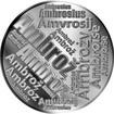 Česká jména - Ambrož - velká stříbrná medaile 1 Oz