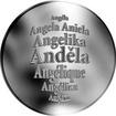 Česká jména - Anděla - stříbrná medaile