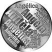 Česká jména - Anděla - velká stříbrná medaile 1 Oz