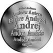 Česká jména - Andrej - stříbrná medaile